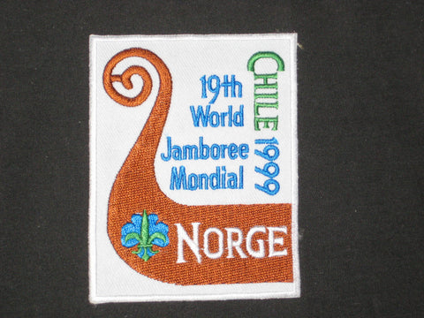 1999 World Jamboree Norway Patch