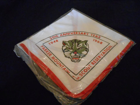 Parker Mountain Scout Reservation 20th Anniversary Neckerchief