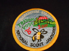 01 National Jamboree Warehouse Staff, Trading Post B Pocket Patch
