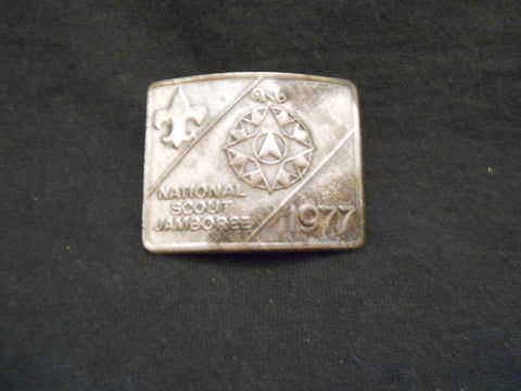 1977 National Scout Jamboree Neckerchief Slide