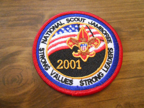 2001 Nation Jamboree red border pocket patch