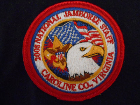 2005 National Jamboree Staff Pocket Patch