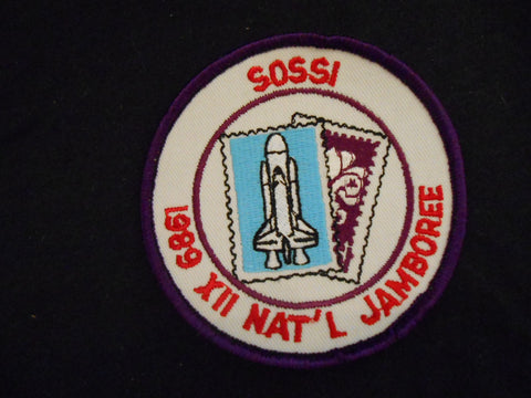 1989 National Jambore SOSSI Pocket Patch