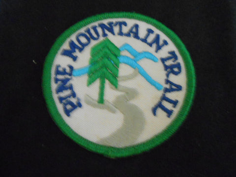 Pine Mountain Trail pocket patch