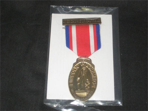 Lincoln Pilgrimage, Historical Trail, Medal