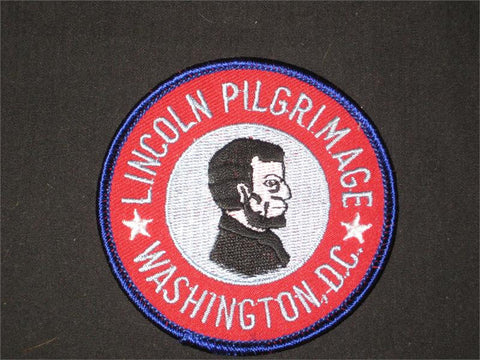 Lincoln Pilgrimage, Historical Trail, Pocket Patch