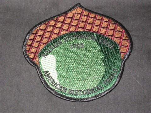 Raleigh Historical Trail Pocket Patch