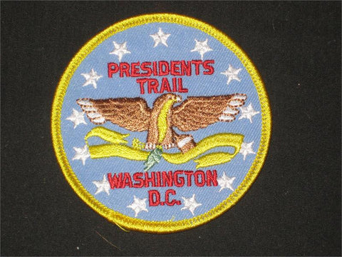 The President's Trail Pocket Patch