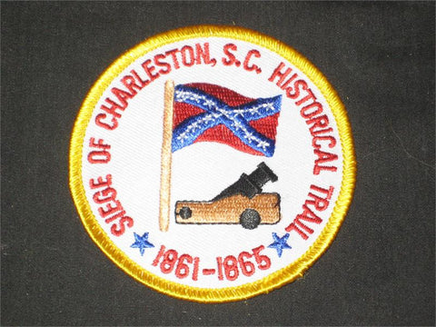 Siege of Charleston Pocket Patch