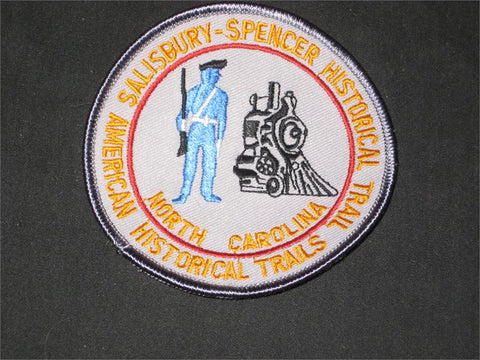 Salisbury-Spencer Historical Trail Pocket Patch