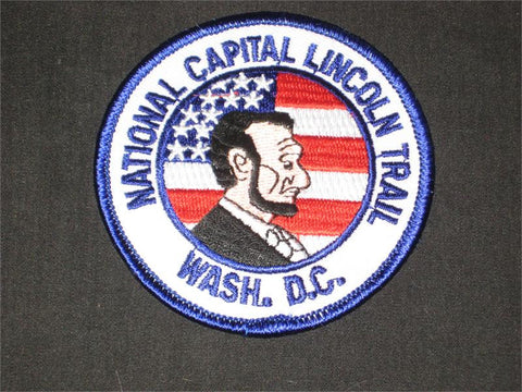 National Capital Lincoln Trail Pocket Patch