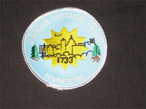 Harrisburg Historical Trail Pocket Patch