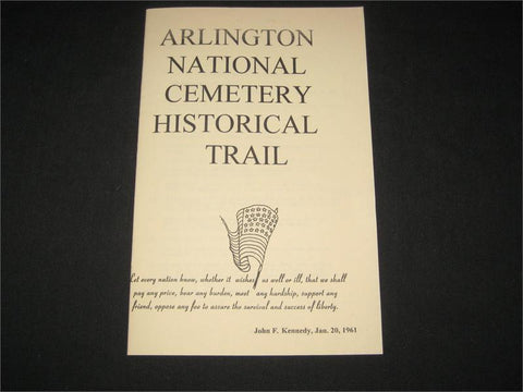 Arlington National Cemetery Historical Trail Guidebook