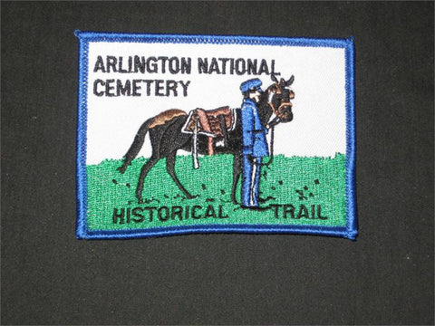 Arlington National Cemetery Historical Pocket Patch