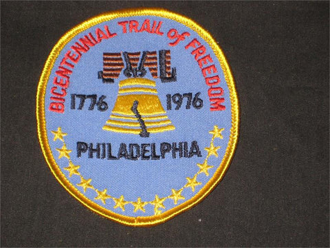 Philadelphia Bicentennial Trail of Freedom Pocket Patch