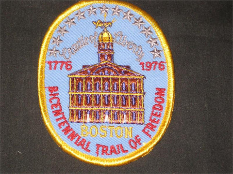 Boston Bicentennial Trail of Freedom Pocket Patch