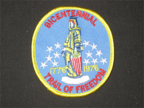 Bicentennial, Trail of Freedom Pocket Patch