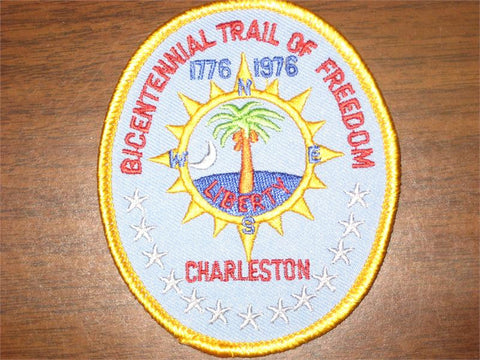 Charleston Bicentennial Trail of Freedom Pocket Patch