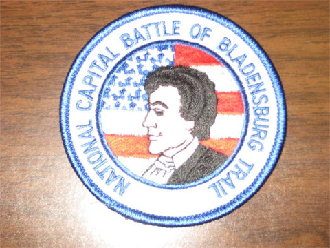 The Battle of Blandensburg and The Star Spangled Banner Trail Pocket Patch