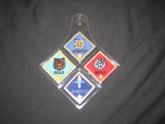 Cub Scout rank patch holder - the carolina trader