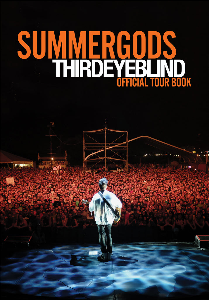 Limited Edition Summer Gods Tour Book and Live CD
