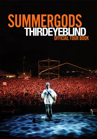 Pre Order - Limited Edition Summer Gods Tour Book and Live CD