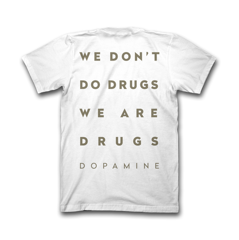 WE ARE DRUGS TEE WHITE