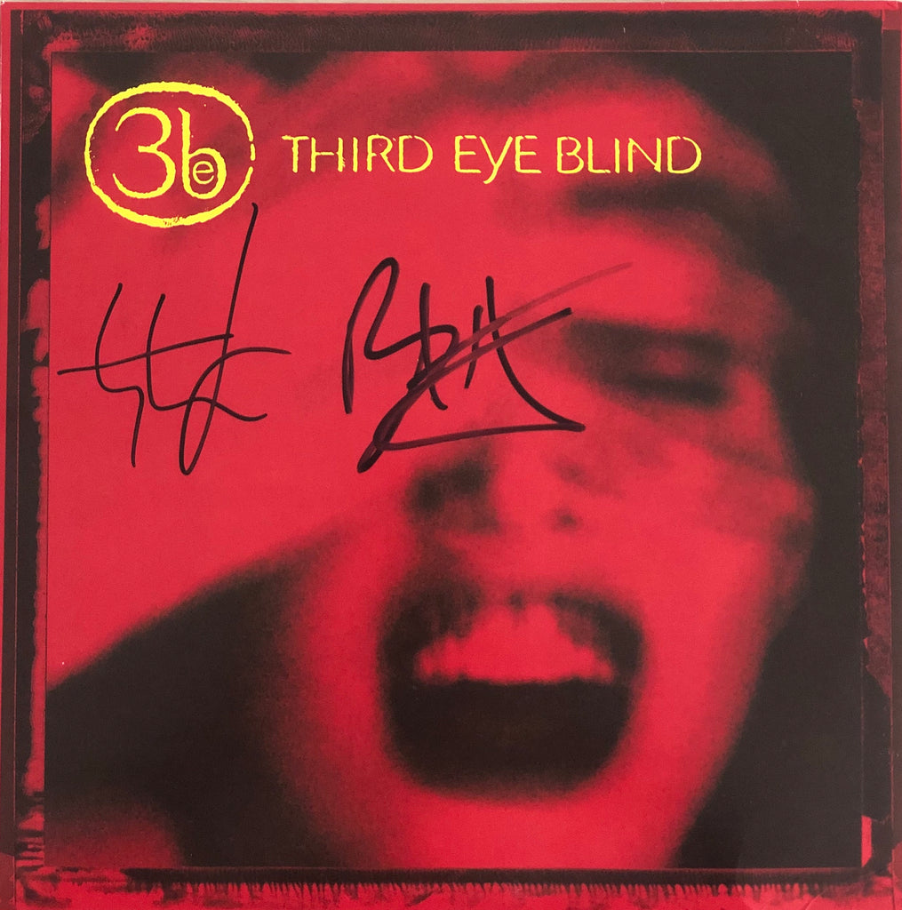 *SIGNED* Third Eye Blind - Self-Titled - Vinyl