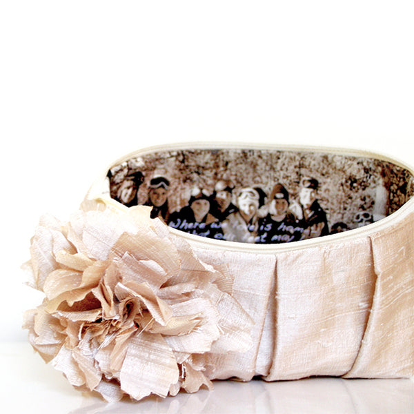 Personalized Photo Clutch Purse