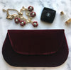 Velvet Envelope Clutch