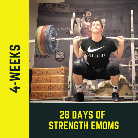 28-Days of Strength EMOMs