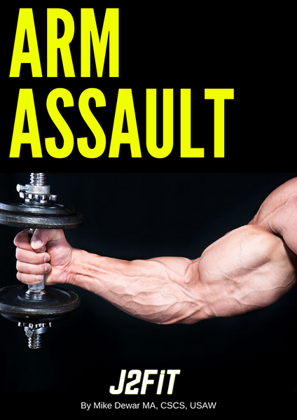 Arm Assault (2-Day Biceps + Triceps Hypertrophy Program)