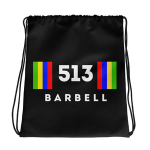 513 Barbell Drawstring Bag