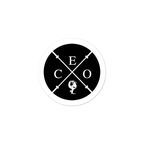 Barbell CEO Sticker