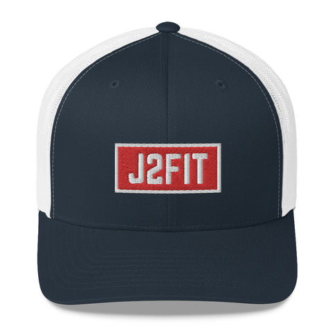 J2FIT Banner Trucker Cap