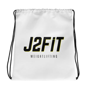 J2FIT Weightlifting Drawstring Bag