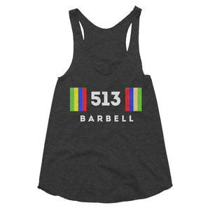 513 Barbell Club Women's Tank