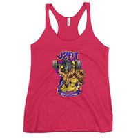 J2FIT Weightlifting Graphic Women's Racerback Tank
