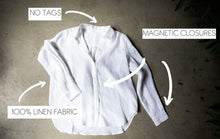 Load image into Gallery viewer, Femme Linen Shirt