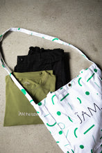 Load image into Gallery viewer, Tote Bag - Green Confetti