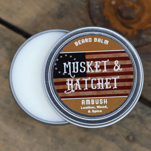 Ambush™ (Leather, Wood, and Spices) Beard Balm