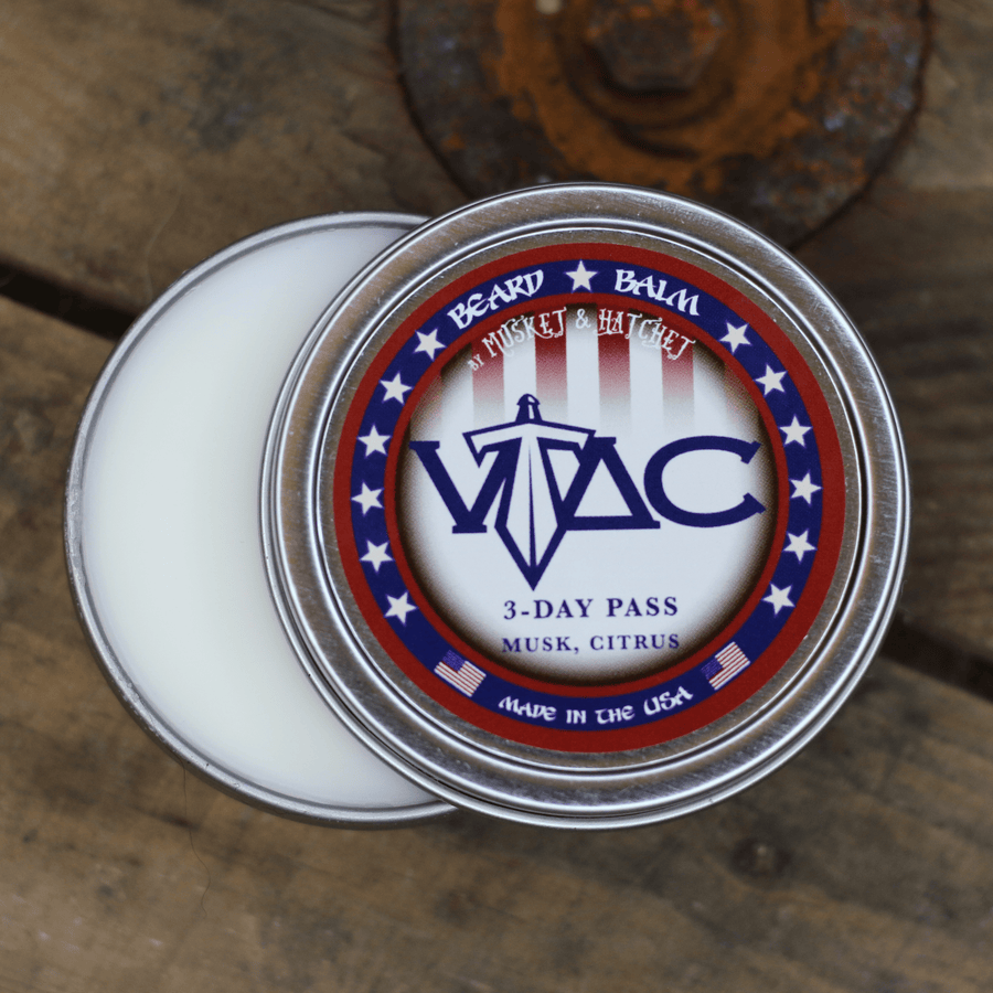 VTAC 3-Day Pass™ (Musk and Citrus) Beard Balm