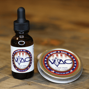 VTAC 3-Day Pass™ (Musk and Citrus) Beard Oil