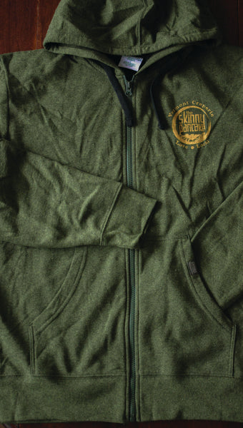 Green Zip-Up Hoodies