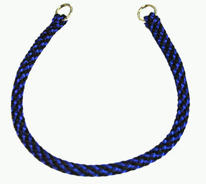 "1/4"" Professional Show Collar    Black/Blue"