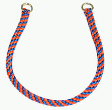 "Load image into Gallery viewer, 1/4"" Professional Show Collar  Blue/Orange"