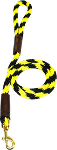 "1/2"" Solid Braid Snap Lead  Bumblebee"