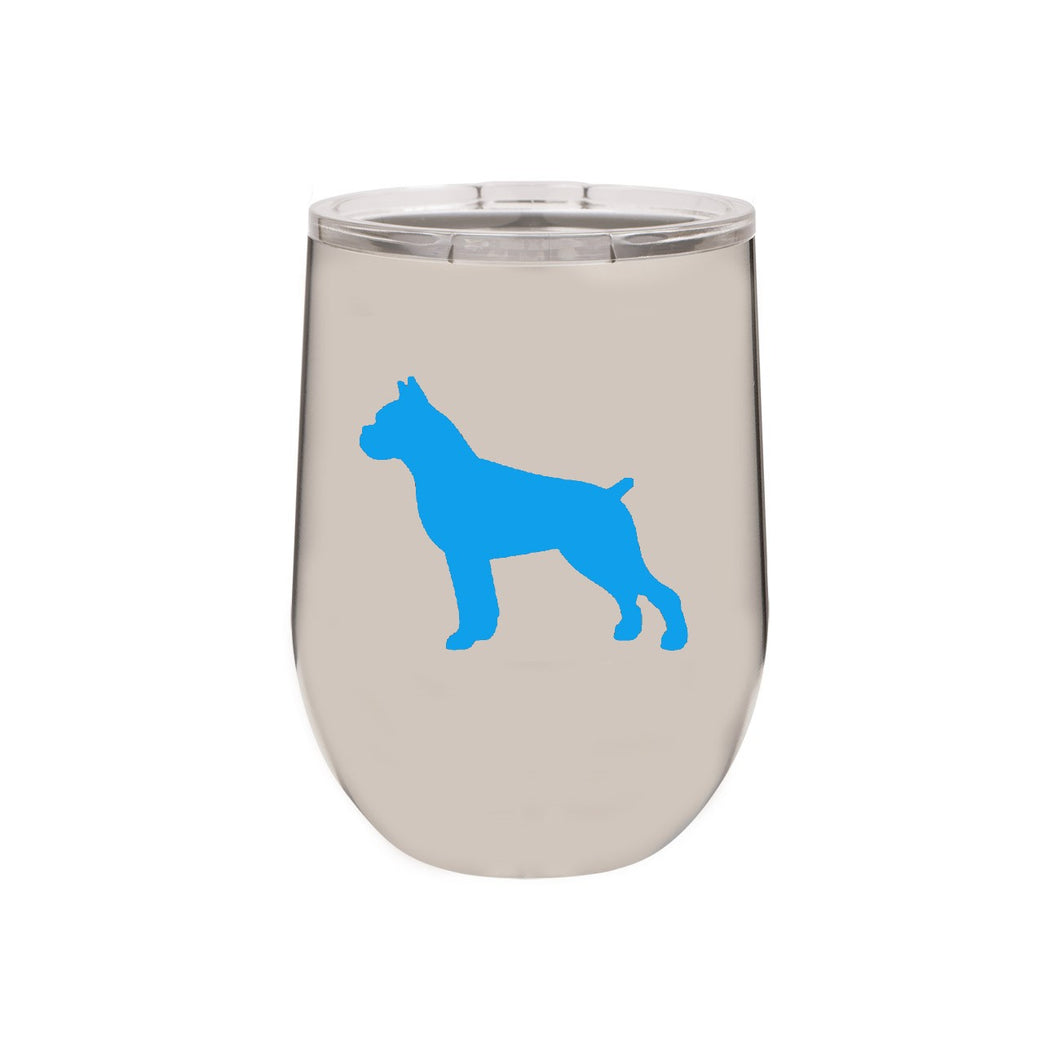 Boxer 12 oz Vacuum Insulated Stemless Wine Glass