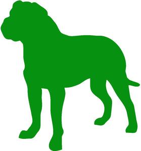 Bull Mastiff Dog Decal