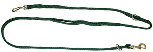"5/8"" Multi Purpose Leash Hunter Green"